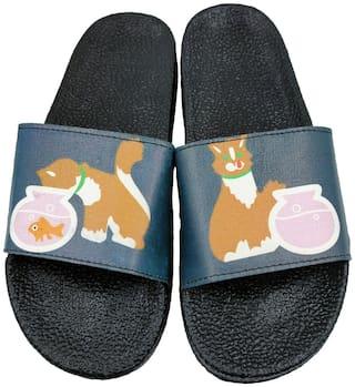 Pampys Angel Flip Flops For Women ( Green )