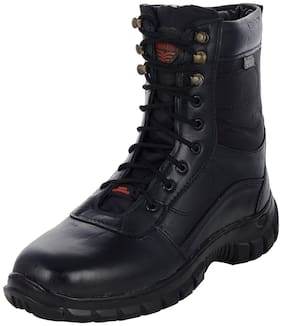 Para Commando Combat Leather Army Boot For Men