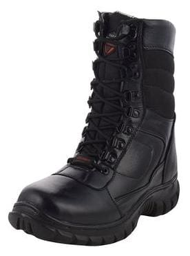Para Trooper Combat Leather Army Boot PT085 For Men