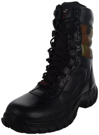 Para Trooper Combat Leather Army Boot PT035 For Men