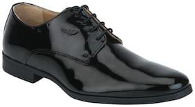 Park Avenue Black Leather Shoes