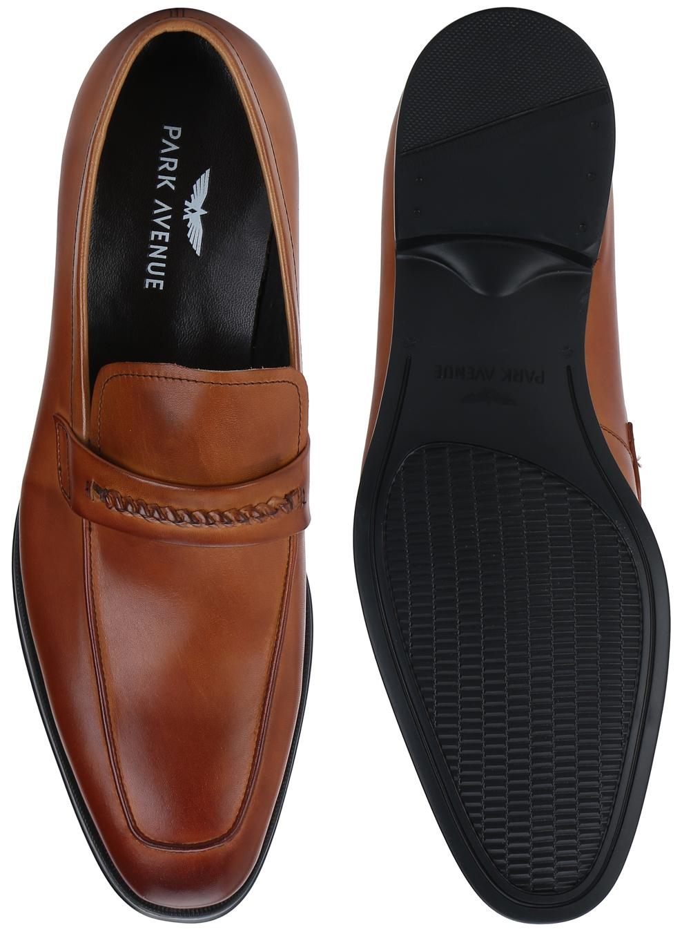 58ed7070af065f Buy Park Avenue Men Brown Formal Shoes Online at Low Prices in India -  Paytmmall.com