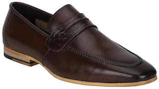 90322dcb740e42 Buy Park Avenue Men Brown Formal Shoes Online at Low Prices in India ...