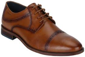 Park Avenue Men Brown Formal Shoes
