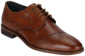 Park Avenue Brown Leather Formal Shoes