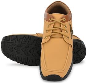 FANTUM Men Tan Outdoor Boots