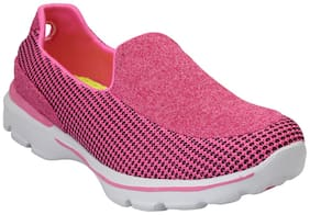 Pelle Albero Womens Pink Sports Shoes
