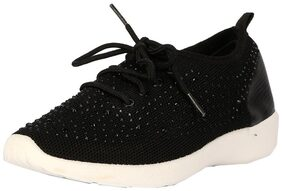 People Women Black Casual Shoes