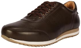 People Men Brown Casual Shoes