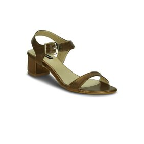 Get Glamr Copper Sandals