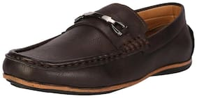 Peter England Brown Loafers