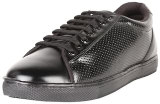 Peter England Men Black Casual Shoes - CASUAL SHOES - PFFL51898132