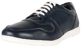 Peter England Blue Casual Shoes