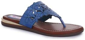 Picktoes Blue Flats