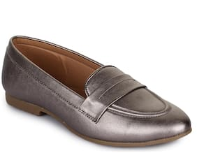 Picktoes Grey Loafers