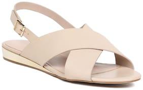 Aldo Women Tan Sandals