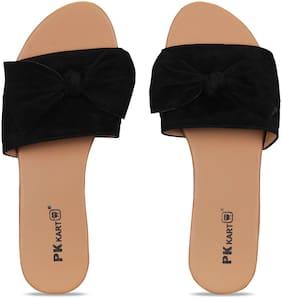 Pkkart Women's Casual Flats & Sandal (Mule)