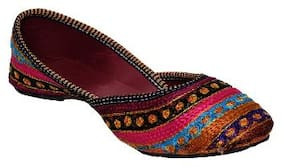 PM TRADERS Royal Rajasthani Look New Design Jutti For Girls