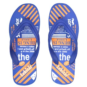 POLITA Men Blue Flip-Flops - 1 Pair