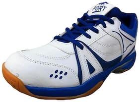 Port Men Basketball Shoes ( White )