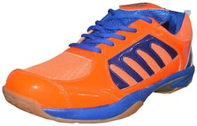 Port Men Basketball Shoes ( Orange )