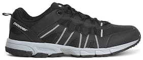 POWER Men AABE Black Running Shoes