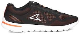 POWER Men N Walk Refresh Black Sports Shoes - UK 8