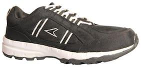 POWER Men's Black Sports Shoes-UK 8