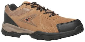 POWER Men's Tan Sports Shoes-UK 7