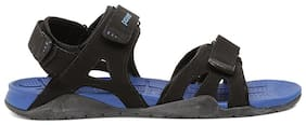 Power Men Black Sandals