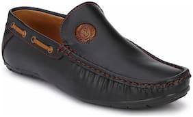 Prolific Men Black Loafers