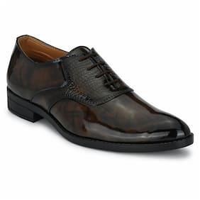 Prolific Men Brown Derby Formal Shoes - FD1751