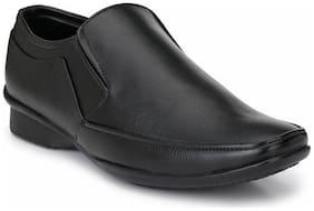 Prolific Men Black Formal Slip On Shoe