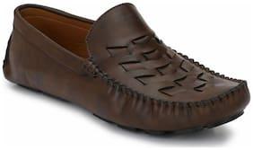 Prolific Men Brown Loafer