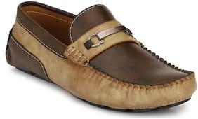 Prolific Men Tan Casual Loafers
