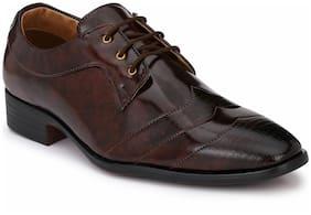 Prolific Men Brown Lace Up Shoe