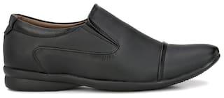 Prolific Men Black Formal Shoes