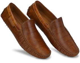 Prolific Men Tan Loafers - CM10117