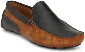 Prolific Men Black Casual Loafers