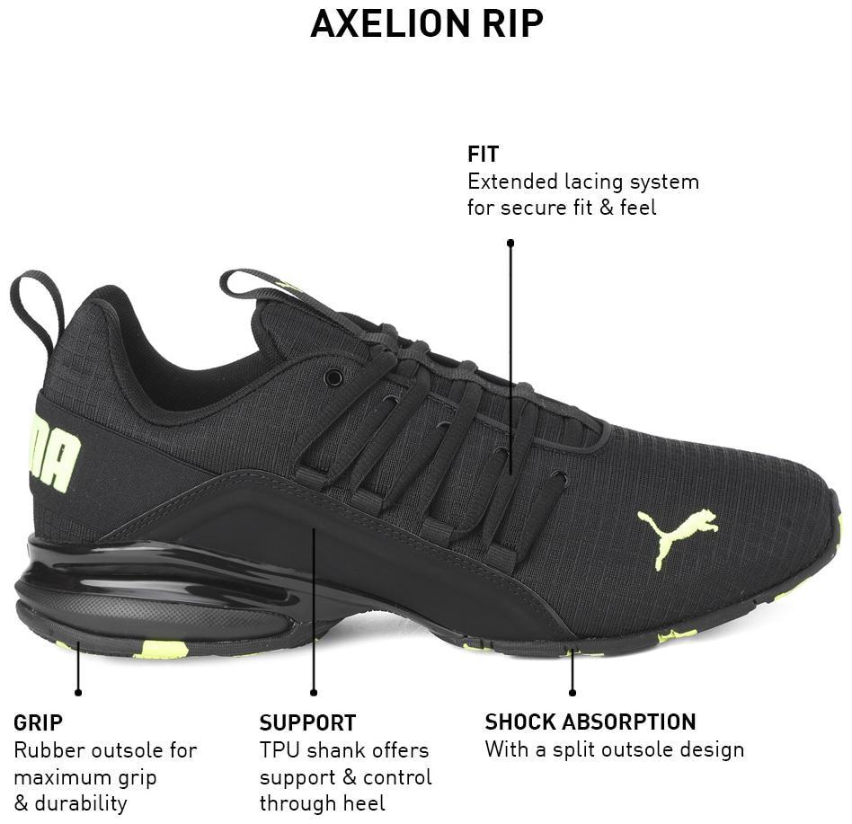 Puma Men Axelion Rip Running Shoes