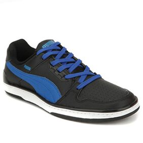 Puma Black And Blue Sneaker Shoes(Size-9)