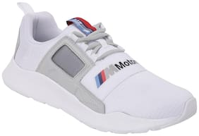 Puma BMW MMS Wired Cage Unisex White Sneakers -