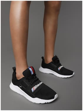 Sneakers Shoes For Unisex ( Black )