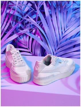 Puma Women White Sneakers