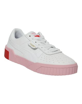 Puma Women White Sneakers