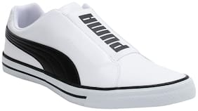 Men White Classic Sneakers