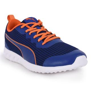 Puma Drip ID Blue & Orange Sports Shoe