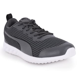 Puma Drip ID Grey & Black Sports Shoe