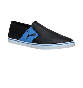 4feec1094b63ea Buy Puma Men Black Sneakers - 36323206 Online at Low Prices in India ...