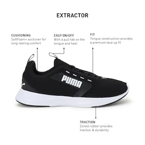 Puma Men Extractor Running Shoes ( Black )